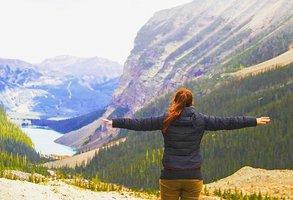 [Translate to Österreichisch:] Natur genießen und Flügel ausbreiten, wie Michelle im Auslandssemester in Kanada