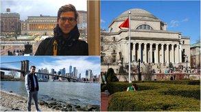 [Translate to Österreichisch:] Axel und Yuri haben sich den Traum vom Auslandssemester an der Columbia University realisiert.