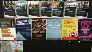 Whats on at the Village?