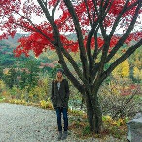 [Translate to Österreichisch:] Besonders das Wandern hat Melanie in Seoul genossen.