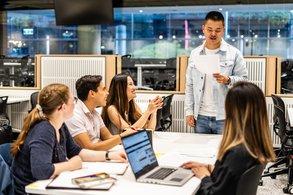 [Translate to Österreichisch:] Spannende Kurse im Auslandssemester belegen, zum Beispiel an der University of Technology Sydney.