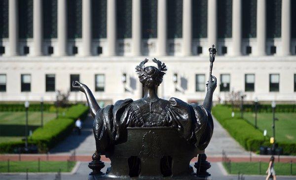Die Columbia University in New York City ist Mitglied der Ivy League.